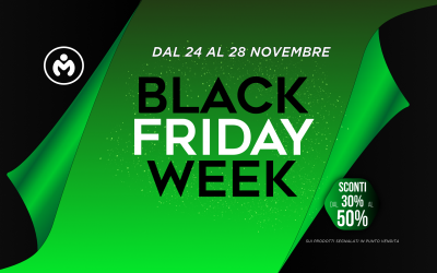 Black Friday Week dal 24 al 28 Novembre
